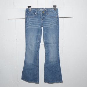 American eagle real flare womens jeans  sz 2 R